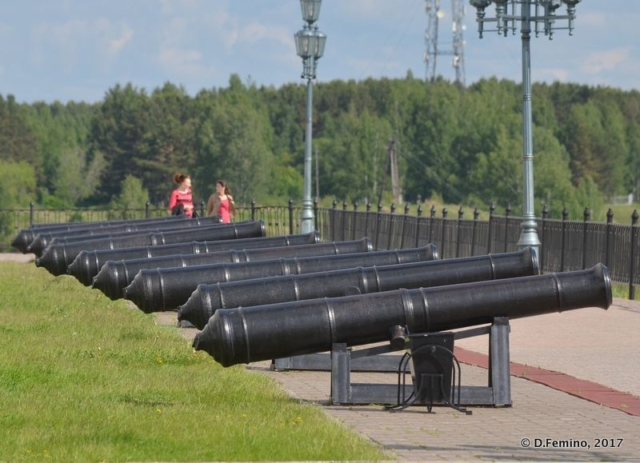 Cannons (Tobolsk', Russia, 2017)