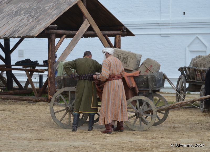 Scene from a movie (Tobolsk', Russia, 2017)