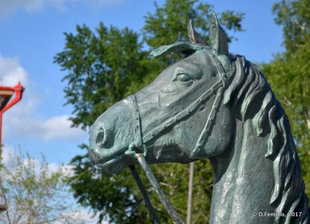 Horse head (Tobolsk', Russia, 2017)