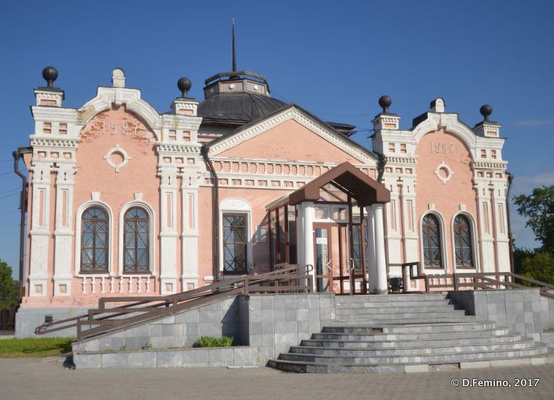 Provincial museum (Tobolsk', Russia, 2017)