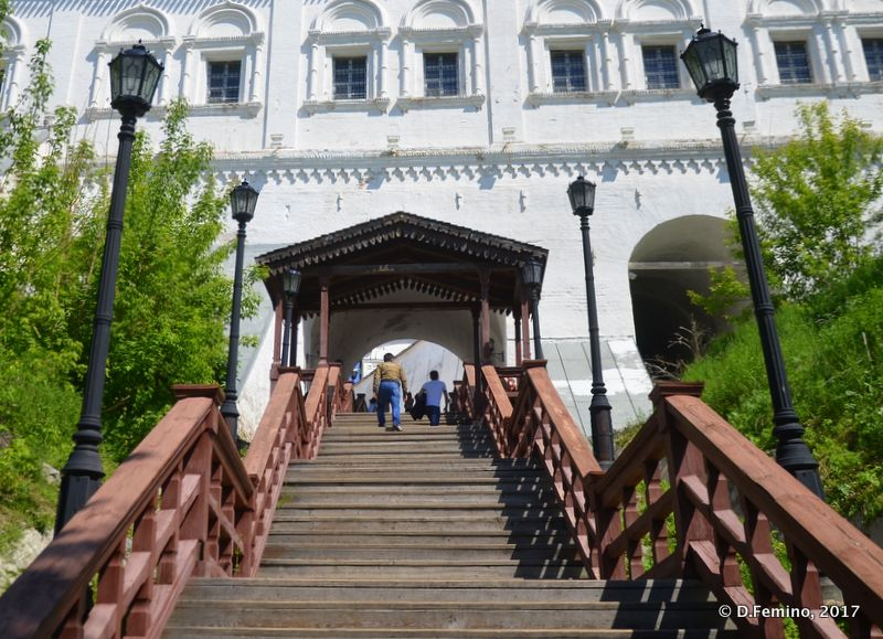 Stairs to the Kremlin (Tobolsk', Russia, 2017)