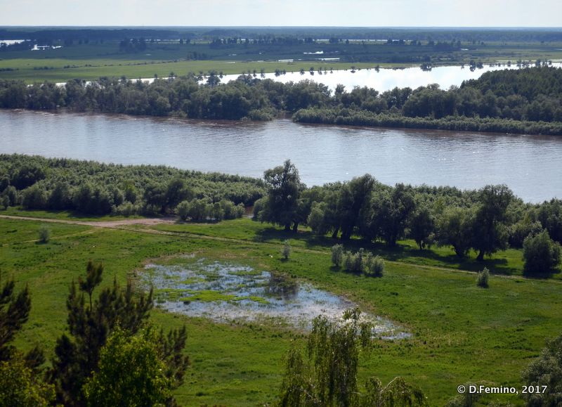 View of Irtysh river (Abalak, Russia, 2017)