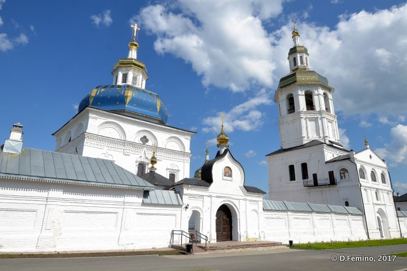 Znamensky Monastery (Abalak, Russia, 2017)