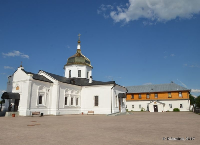 Court in Znamensky Monastery (Abalak, Russia, 2017)