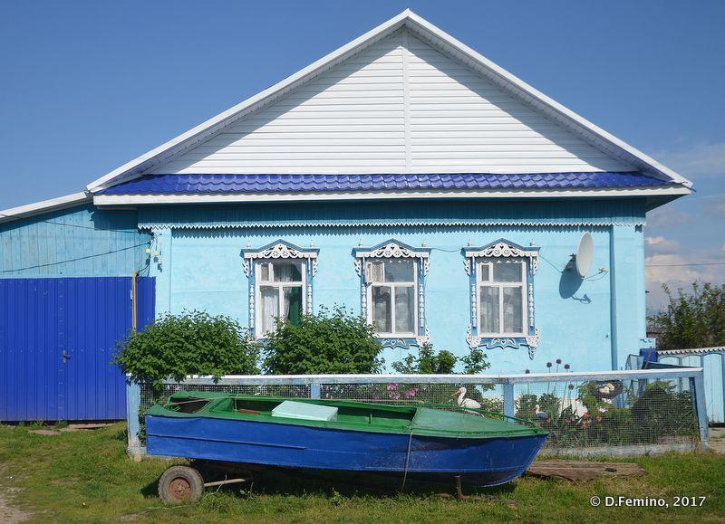 Beautiful wooden house (Abalak, Russia, 2017)