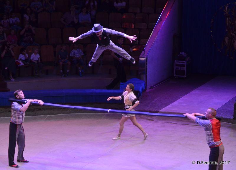 Jumping acrobat (Tyumen, Russia, 2017)Jumping acrobat (Tyumen, Russia, 2017)