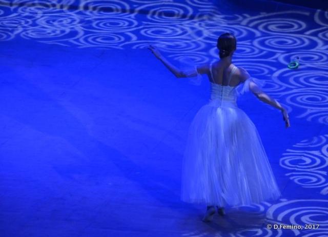 Magic light for a classica dancer (Tyumen, Russia, 2017)