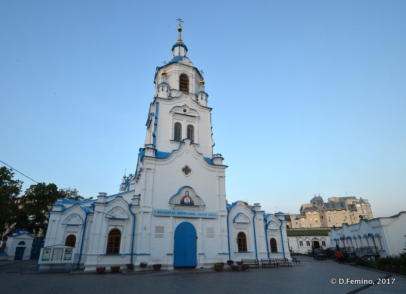 Znamensky church (Tyumen, Russia, 2017)