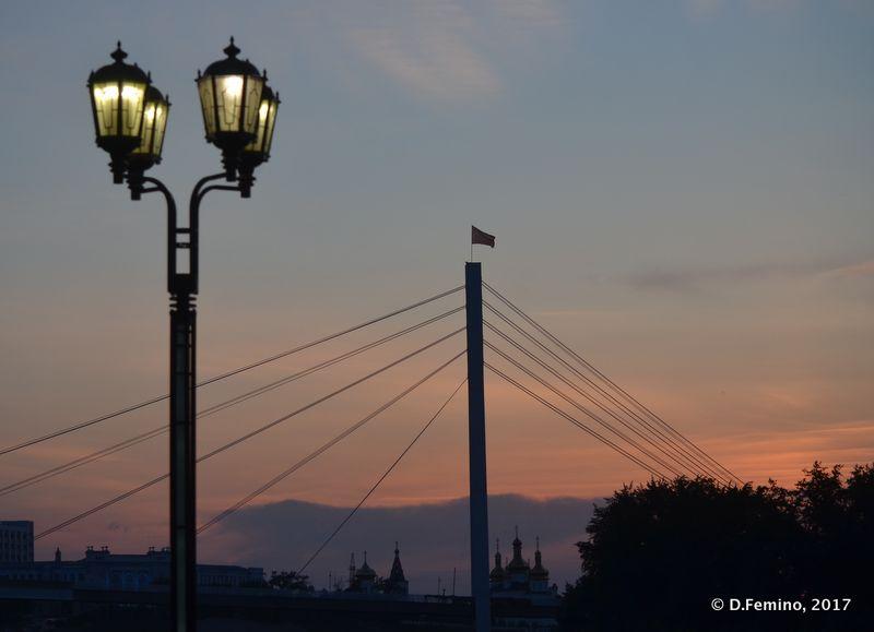 Vlyublennykh bridge (Tyumen, Russia, 2017)