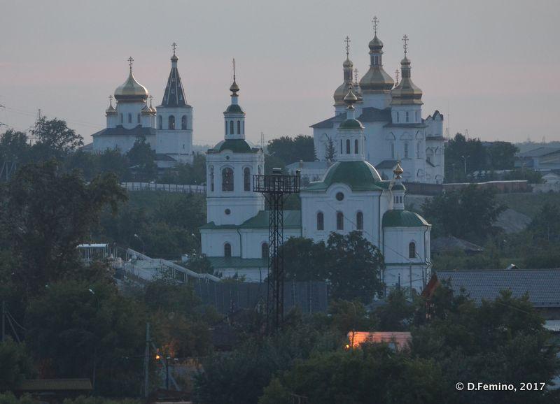 Holy trinity monastery (Tyumen, Russia, 2017)