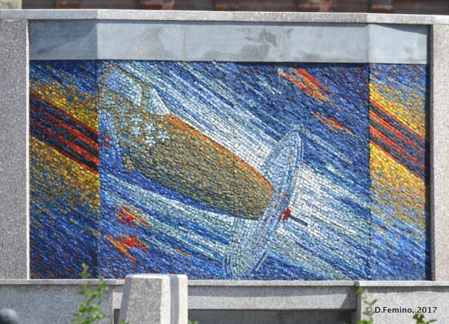 Cosmic mosaic (Novosibirsk, Russia, 2017)