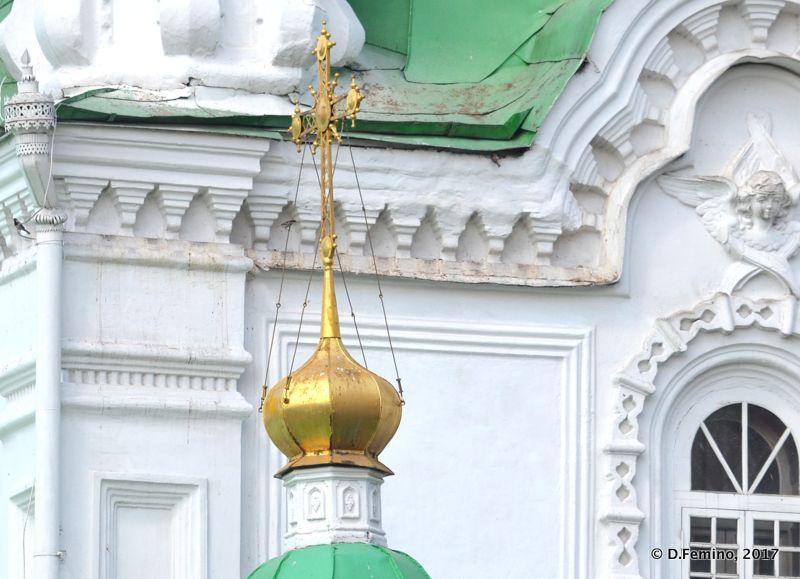 Intercession Cathedral Dome (Krasnoyarsk, Russia, 2017)