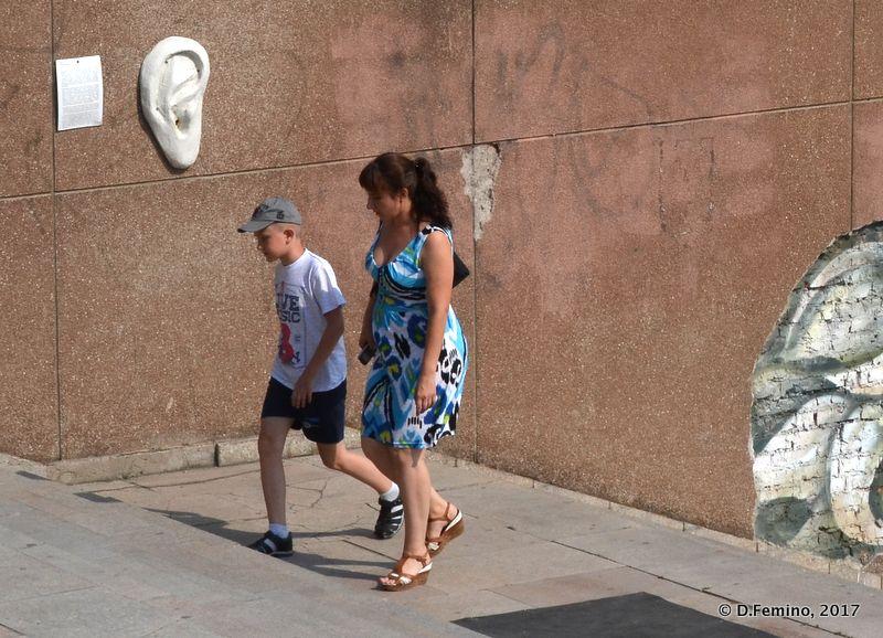 "Walking by Maya Nas'bullova ""Object"" (Krasnoyarsk, Russia, 2017)"