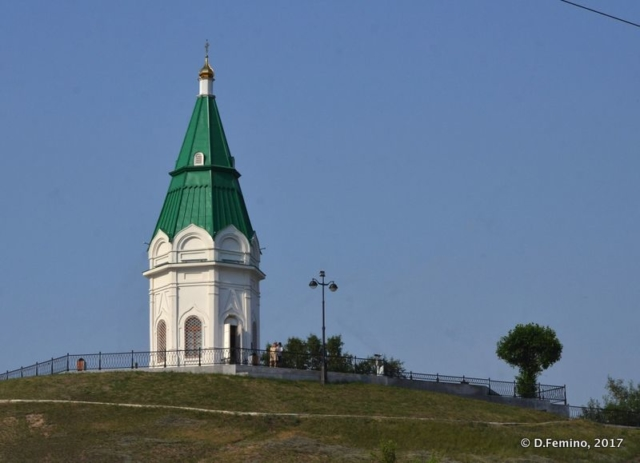 Paraskeva Pyatnitsa Chapel (Krasnoyarsk, Russia, 2017)