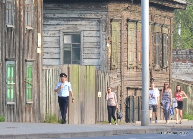 Promenade downtown (Krasnoyarsk, Russia, 2017)