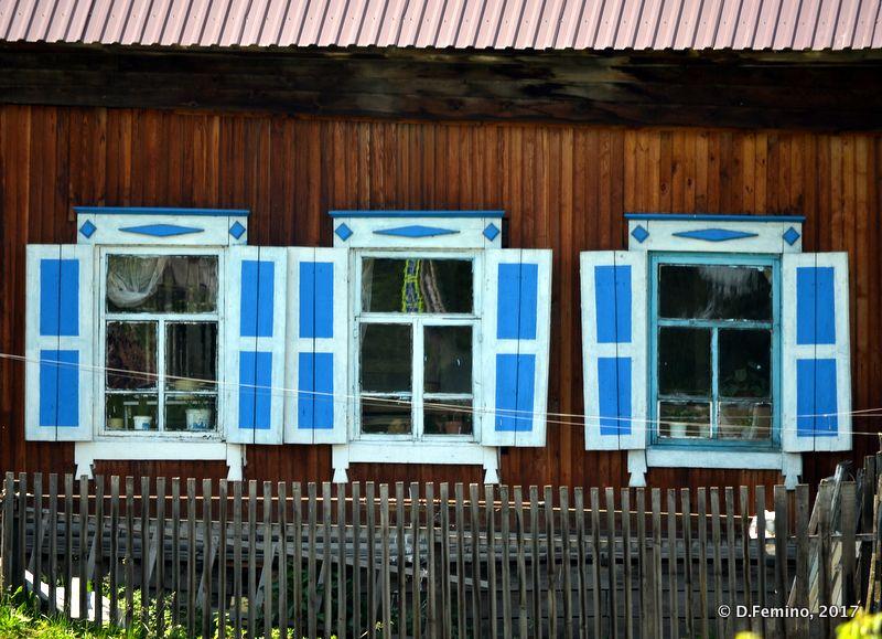 Wooden house in Stolby area (Krasnoyarsk, Russia, 2017)