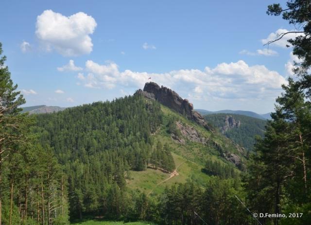 Peak in Stolby reserve (Krasnoyarsk, Russia, 2017)