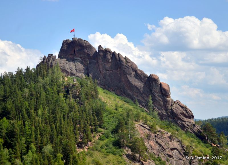 Takmak Peak (Krasnoyarsk, Russia, 2017)