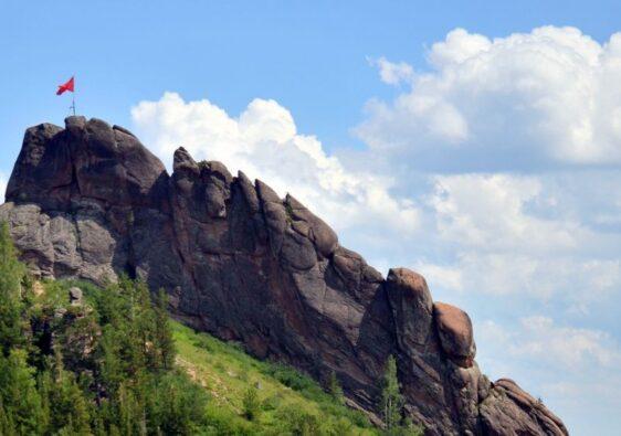 Takmak peak in Stolby reserve