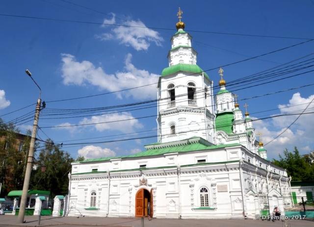 Intercession Cathedral (Krasnoyarsk, Russia, 2017)