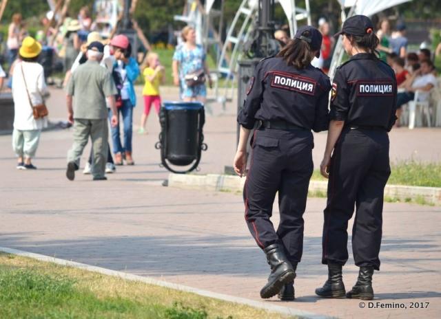 Two Police Women (Irkutsk, Russia, 2017)