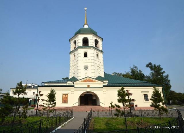 Znamensky nunnery (Irkutsk, Russia, 2017)