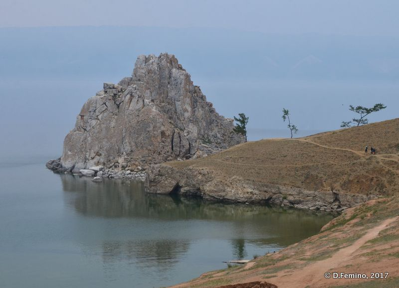 Headland on Baikal lake (Khuzhir, Russia, 2017)