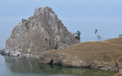Headland in Khuzhir