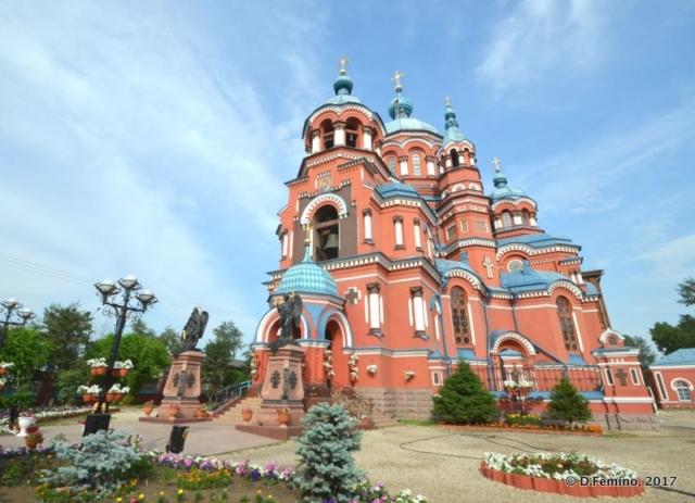 Kazan church (Irkutsk, Russia, 2017)