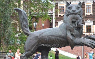 Babr is the symbol of Irkutsk