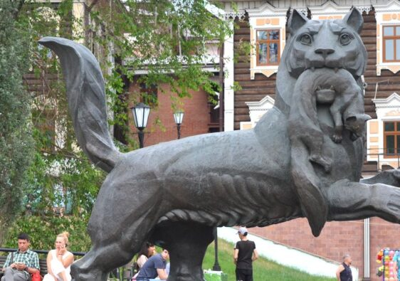 Babr is the symbol of Irkutsk