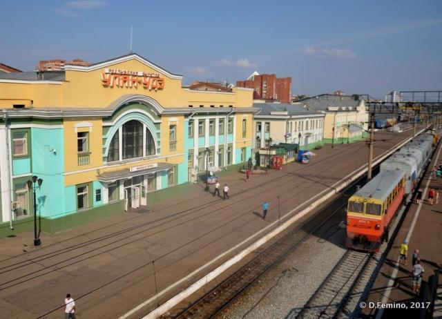 Railway station (Ulan Ude, Russia, 2017)