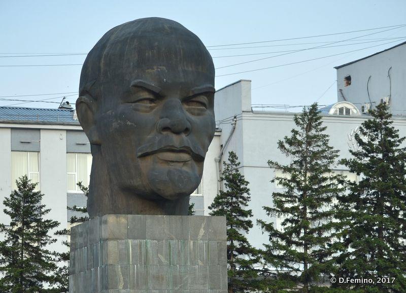 World largest Lenin's head (Ulan Ude, Russia, 2017)