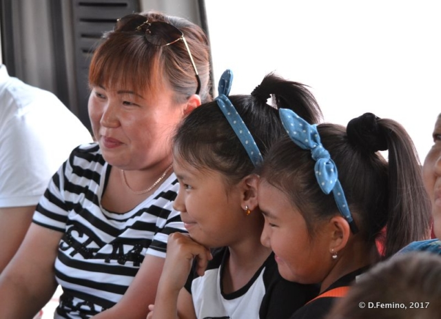 On the bus to the temple (Ivolginsky Datsan, Russia, 2017)