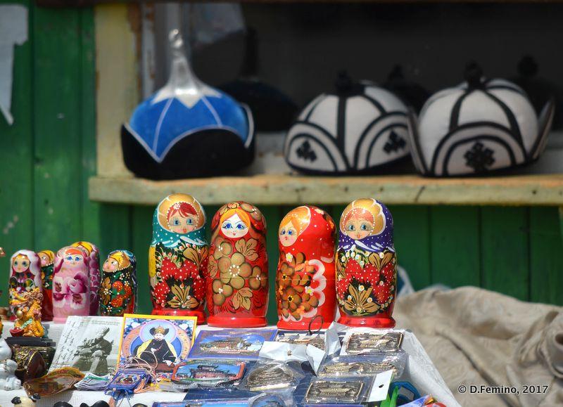 Souvenir shop (Ivolginsky Datsan, Russia, 2017)