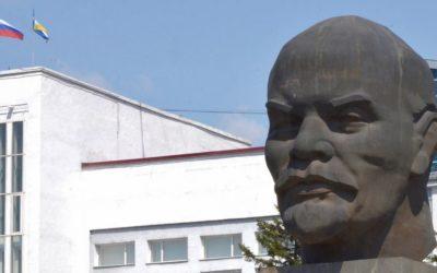 Lenin's head in Ulan Ude