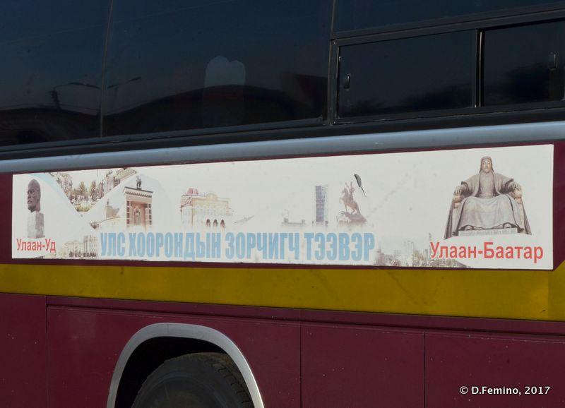 Bus to Ulan Bator (Ulan Ude, Russia, 2017)