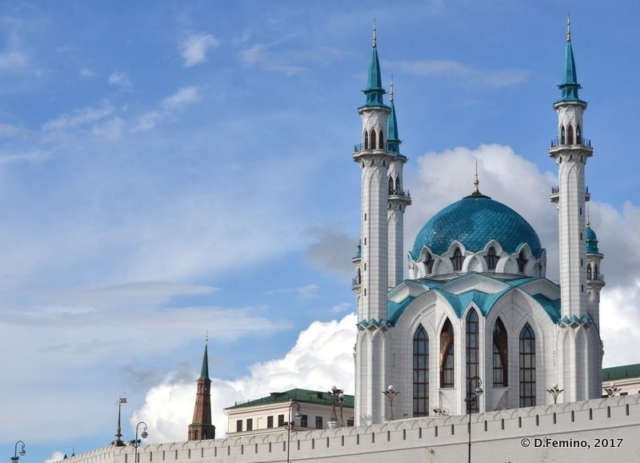 Qolşärif Mosque (Kazan, Russia, 2017)