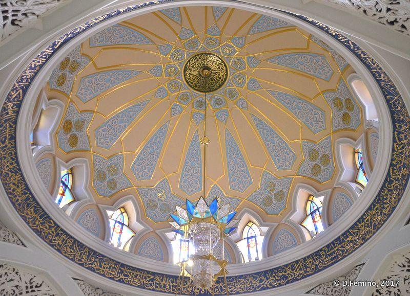 Dome in Qolşärif Mosque (Kazan, Russia, 2017)