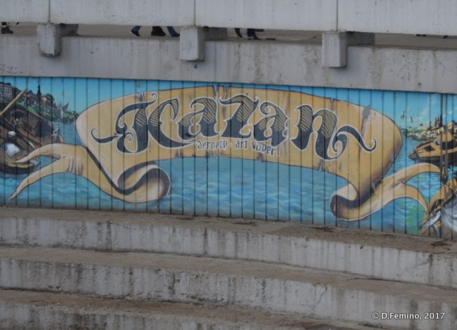 Murales (Kazan, Russia, 2017)