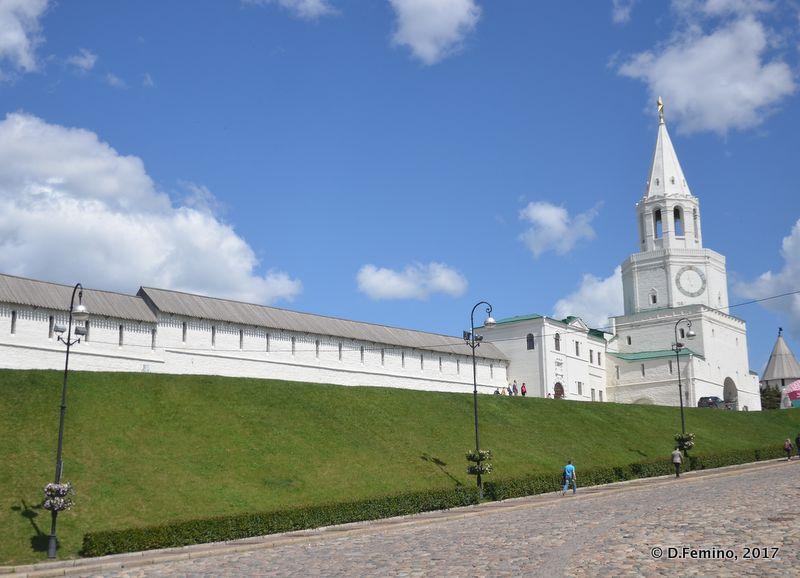 Kremlin walls (Kazan, Russia, 2017)