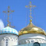 Nicholas church domes in Kazan