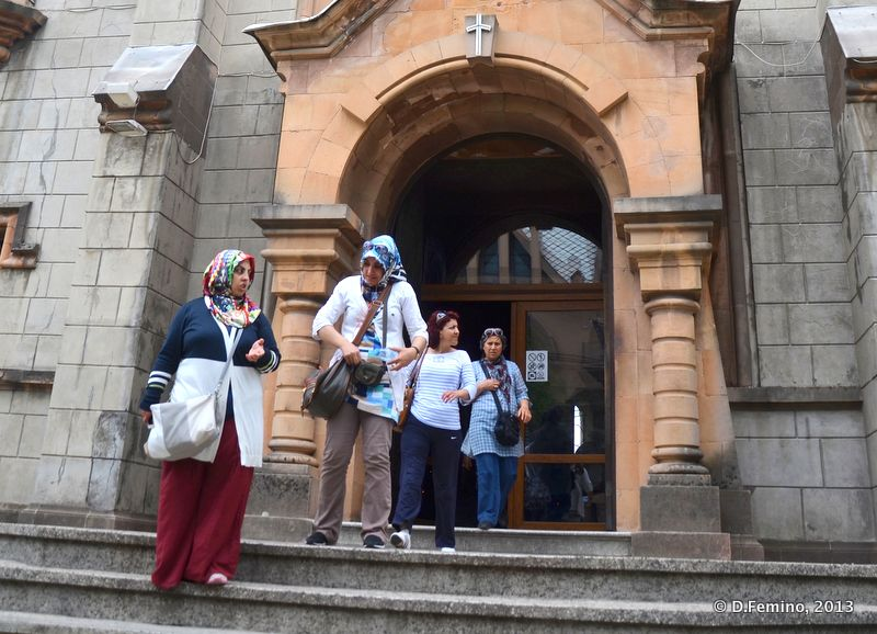 Leaving the Cathedral after the mass (Batumi, Georgia, 2013)
