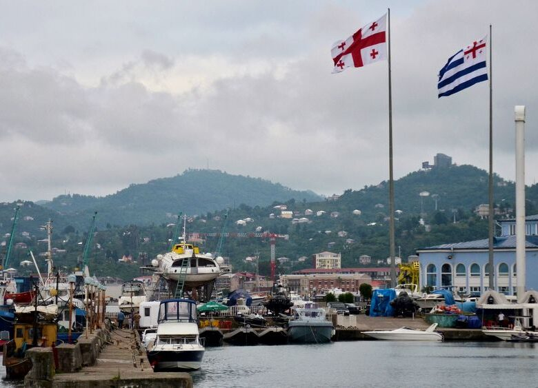 Small harbour in Batumi