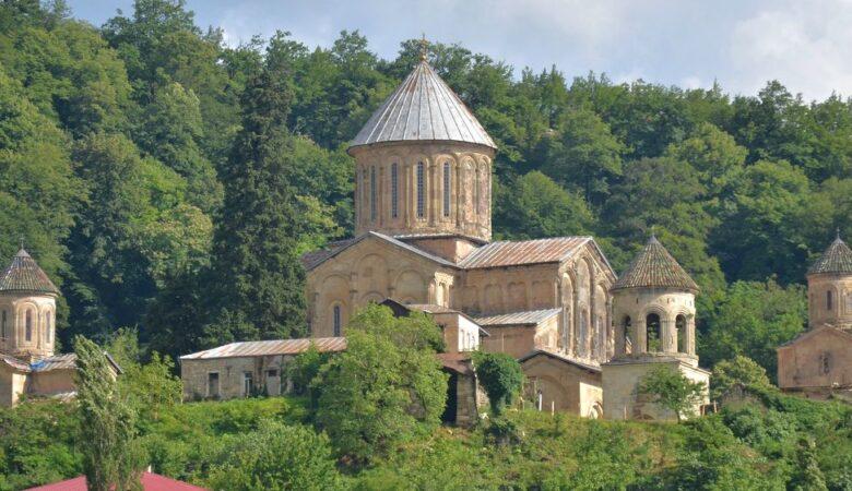 View of Gelati Monastery, near Kutaisi