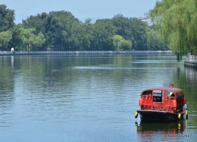 Qianhai lake (Beijing, China, 2017)