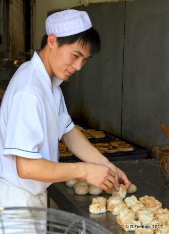 Preparing dumplings (Beijing, China, 2017)