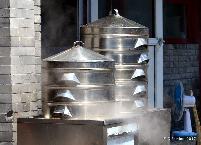 Steam Dumpling pots (Beijing, China, 2017)