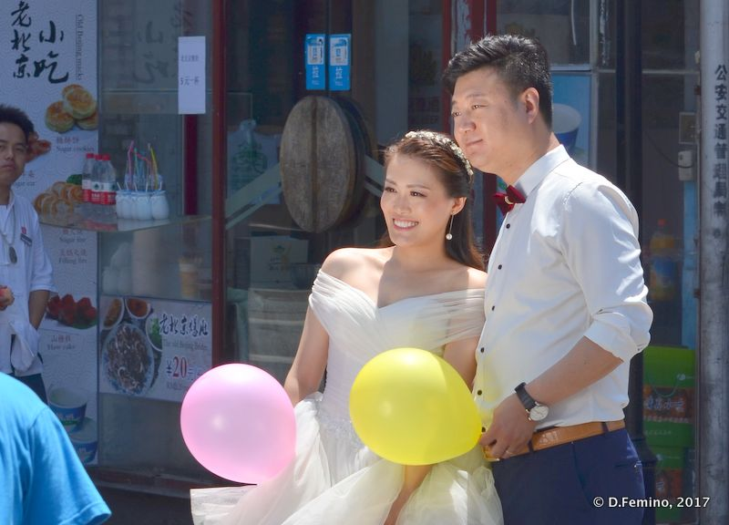 Just married (Beijing, China, 2017)