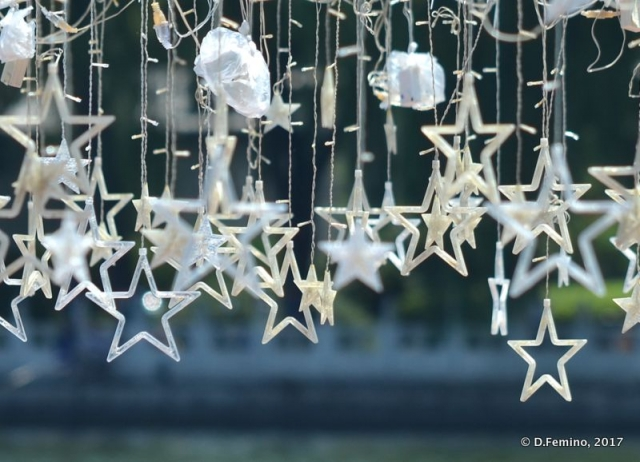 Hanged star decorations (Beijing, China, 2017)